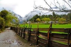idylliskt land för skönhet royaltyfria foton