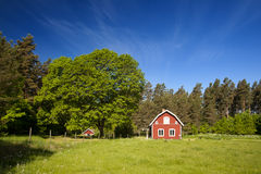 Idylll sueco Imágenes de archivo libres de regalías