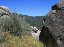 Idyllwild County Park geology Royalty Free Stock Photo