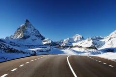 idzie Matterhorn fotografia stock
