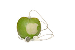 IEat Apple Stockbilder