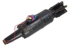 IED (αυτοσχεδιασμένος εκρηκτικός μηχανισμός) με το βλήμα ΘΕΡΜΌΤΗΤΑΣ δεξαμενών 125mm ΕΣΣΔ στοκ φωτογραφία με δικαίωμα ελεύθερης χρήσης