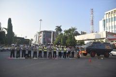 Ied-Gebet auf dem Gebiet Simpanglima Semarang lizenzfreie stockfotografie