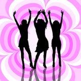 Iedereen danst! Stock Afbeeldingen