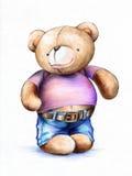 Iedereen houdt van de Teddybeer! Royalty-vrije Stock Foto's