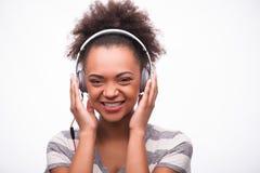 Iedereen houdt van muziek Stock Foto's