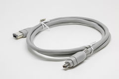 IEEE Cable white isolate Background Royalty Free Stock Photo