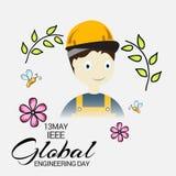 Ieee Global Engineering Day. Stock Image