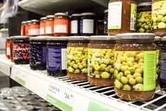 IEKA ZWEEDSE voedselmarkt Royalty-vrije Stock Foto's