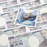 Iene japonês Fotos de Stock Royalty Free