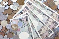Iene japonês Foto de Stock