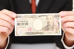 Ienes japoneses Imagem de Stock Royalty Free