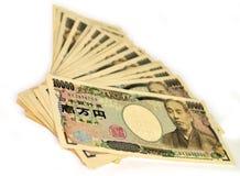 Ienes japoneses Fotografia de Stock