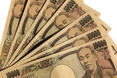 Ienes japoneses Imagens de Stock Royalty Free