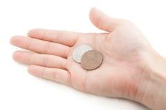110 ienes, taxa de imposto de 10% na moeda japonesa Foto de Stock Royalty Free