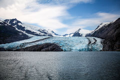 Ier- Kenai Peninsula- Chugach National Forest- AKce. Portage Glacier- Kenai Peninsula- Chugach National Forest- AK This spectacular glacier must be accessed by a Royalty Free Stock Photo