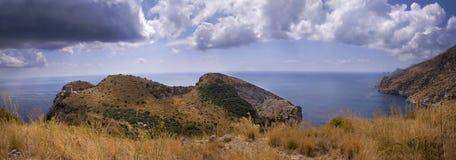 Ieranto - paisaje, Nápoles Imagen de archivo