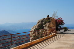 Ierapetra, Agios Nikolas, Creta, Grécia foto de stock royalty free