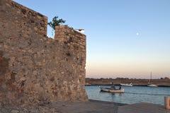 Ierapetra city of Crete island in Greece Stock Photos