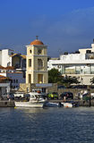 Ierapetra city at Crete island, Greece Royalty Free Stock Photo