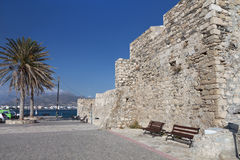 Ierapetra city at Crete island in Greece Royalty Free Stock Images