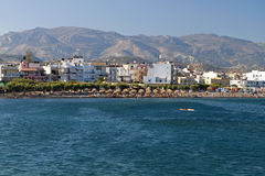 Ierapetra city, Crete island, Greece Royalty Free Stock Photo