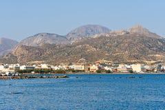 Ierapetra, Crete, Grecia fotos de archivo libres de regalías