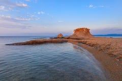 Ierissos-Kakoudia beach, Greece Stock Photo