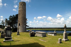 Ierland - Clonmacnoise Royalty-vrije Stock Afbeelding