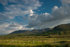 Ierland, Connemara, Co.Galway Royalty-vrije Stock Fotografie