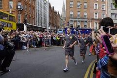 ierland dublin 06 juni 2012 Royalty-vrije Stock Foto