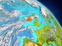 Ierland van baan Royalty-vrije Stock Afbeelding
