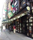 Iers Bar en Restaurant, NYC, NY, de V.S. stock foto