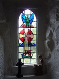 Iers Gebrandschilderd glas Stock Afbeelding
