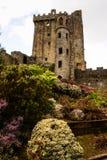 Iers kasteel van Blarney, beroemd voor de steen van welsprekendheid. Ire royalty-vrije stock afbeelding
