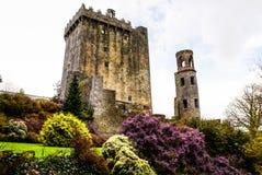 Iers kasteel van Blarney, beroemd voor de steen van welsprekendheid. Ire royalty-vrije stock fotografie