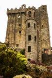 Iers kasteel van Blarney, beroemd voor de steen van welsprekendheid. Ire royalty-vrije stock foto