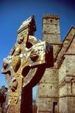Iers Keltisch kruis Royalty-vrije Stock Afbeeldingen