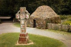 Iers Nationaal Erfenispark Wexford ierland royalty-vrije stock afbeeldingen