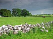Iers platteland Royalty-vrije Stock Foto