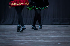 Ierse Danser Legs Royalty-vrije Stock Foto's