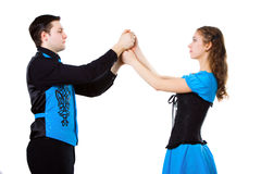 Ierse dansers stock fotografie
