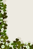 Ierse gelukkaart Stock Foto