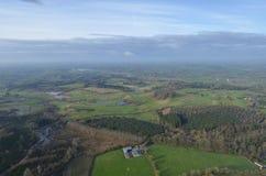 Ierse golfcursus Stock Foto's