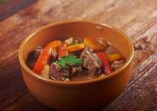 Ierse hutspot met teder lamsvlees Royalty-vrije Stock Foto's