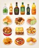 Ierse keuken stock illustratie
