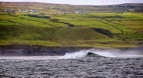 Ierse kustlijn royalty-vrije stock foto