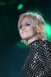 Ierse musicus Dolores O'Riordan royalty-vrije stock afbeelding