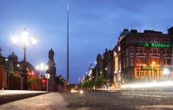 Ierse Nationale Hypotheekbank en Spits Royalty-vrije Stock Foto