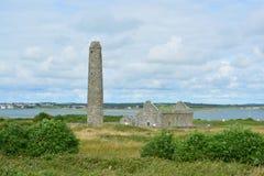 Ierse ruïnes royalty-vrije stock fotografie
